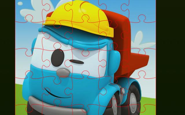 Truck Jigsaw