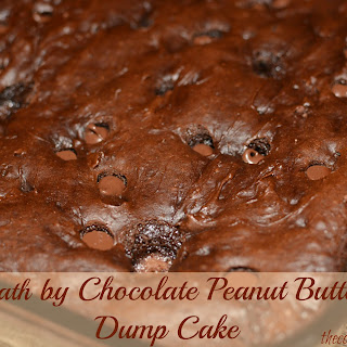 Death by Chocolate Peanut Butter Dump Cake.