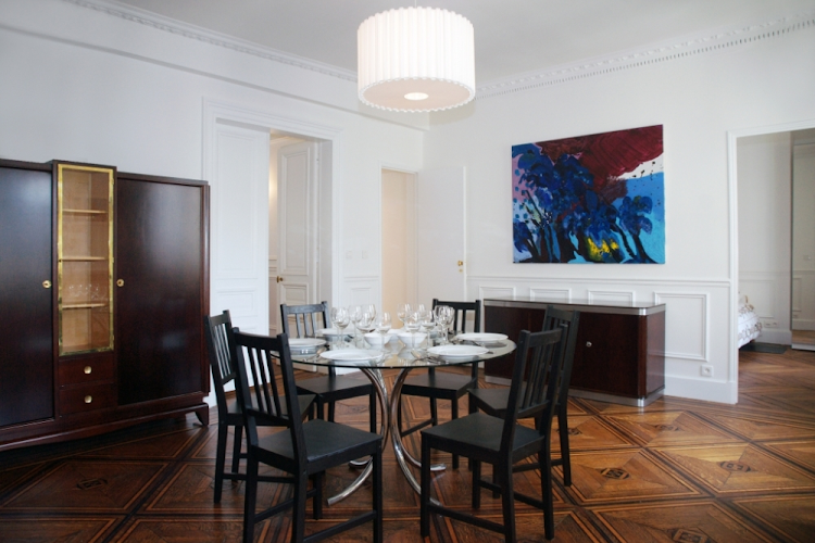 dining room opera serviced apartment