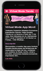Virtual Moda Tienda screenshot 0