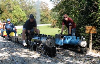 Photo: Hudson and Blue mogul    SWLS at HALS 2009-1107