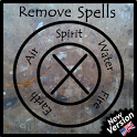 Remove spells and witchcraft icon