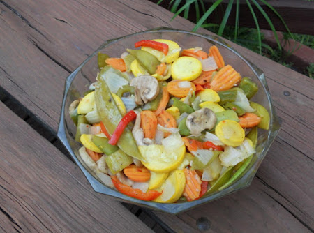 Grilled Fresh Vegetables Recipe