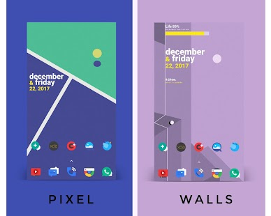 Pixel walls - náhled