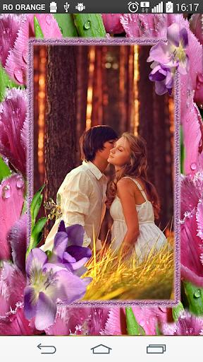 Romantic flower Photo Frames