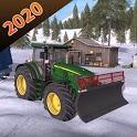 Village Tractor Farming Simulator 3D 2020 icon