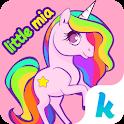 Kika Pro Little Mia Sticker icon