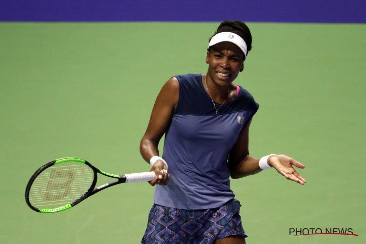 Venus Williams meteen uitgeschakeld in eerste ronde Western & Southern