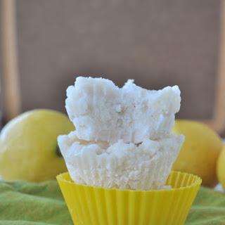 Lemony Coconut Fudge