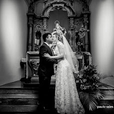 Wedding photographer Paulo Sales (paulosales). Photo of 09.01.2018