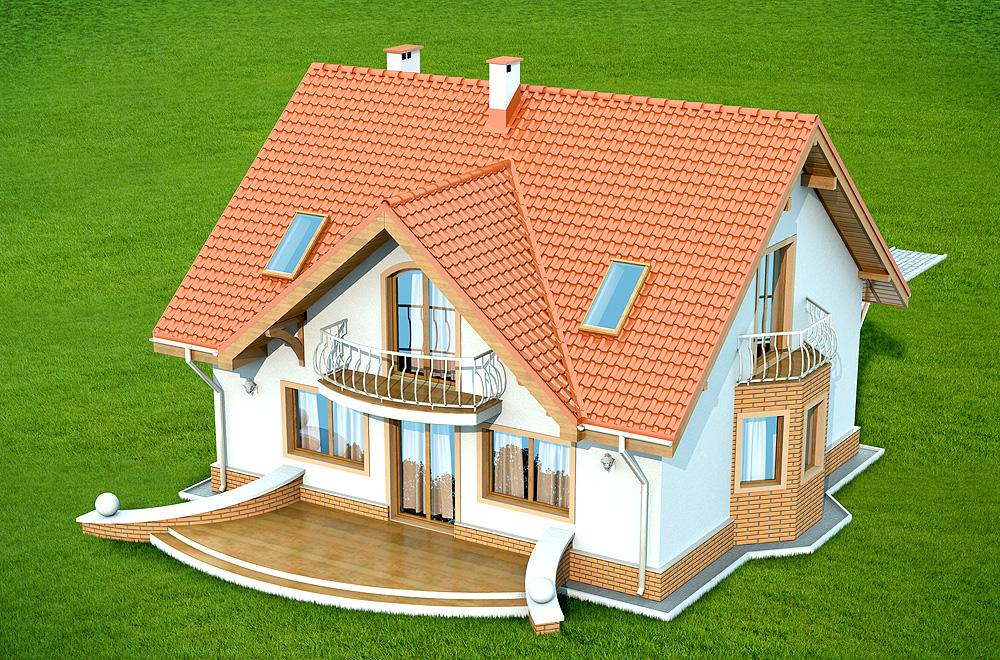 Projekt Domu Karmelita Bez Garażu Tsl 414 13124m²
