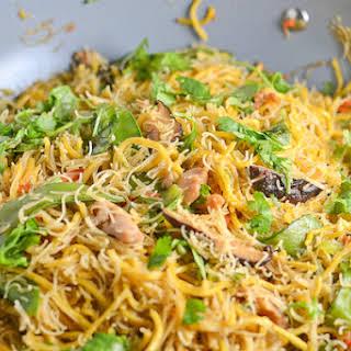 Pancit Canton and Bihon - Filipino Noodles.