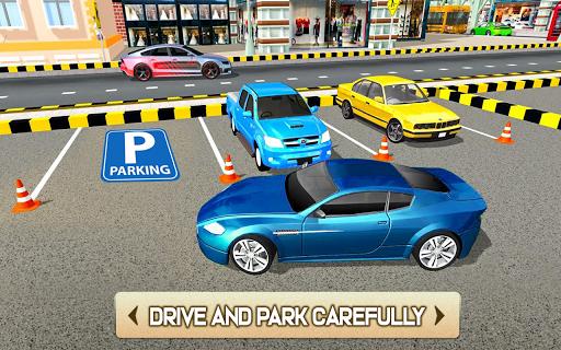 US Smart Car Parking 3D - City Car Park Adventure  screenshots 4
