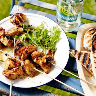 Spicy Chicken Kebabs.