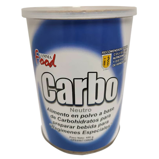 Suplemento Nutricional Carboprotein Modulo Calor 450G Gamma Food