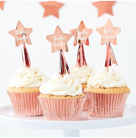 Cupcaketoppers - Twinkle Twinkle