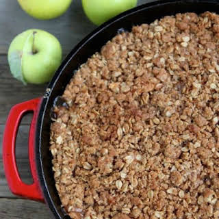 Apple Cinnamon Crumble.