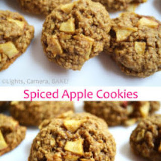 Spiced Apple Cookies.