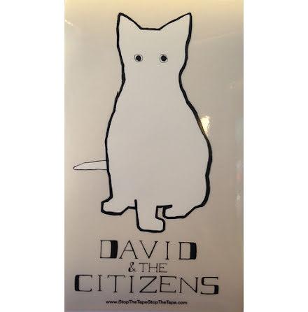 Klistermärke - David & The Citizens