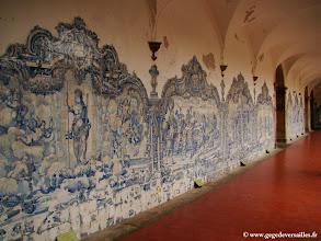 Photo: #022-Salvador de Bahia. Azulejos du cloître São Francisco