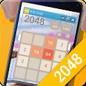 Transparent puzzle 2048