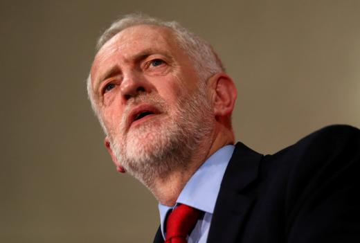Jeremy Corbyn, leader of Britain's opposition Labour Party. Picture: REUTERS