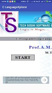 C Language Xplorer - náhled