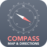 Compass - Maps and Directions 5.0 (Ad-Free)