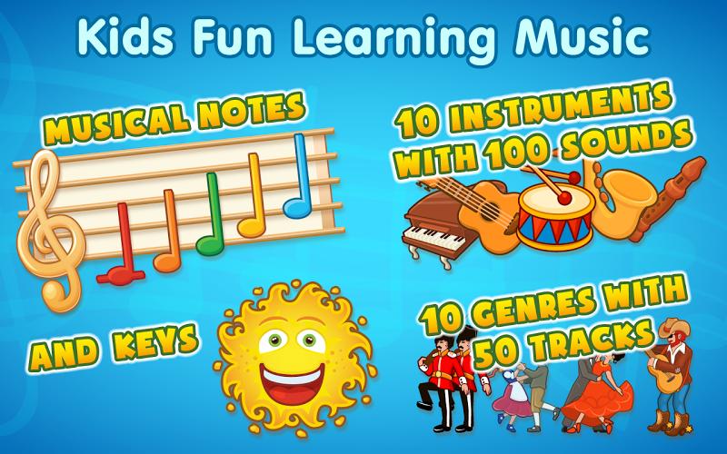 Скриншот Kids Music (Lite)