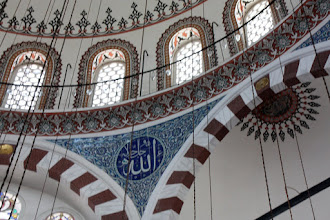 Photo: Day 115 - The Windows in the  Domed Ceiling of The Rustem Pasa Mosque
