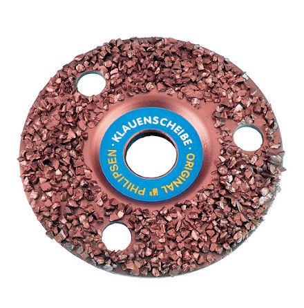 Klövfrässkiva rasp 115 mm hög densitet