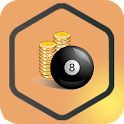 Pool Rewards - Daily Free Coins icon