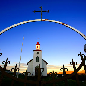 Church in Iceland by Johann Pall Valdimarsson - Buildings & Architecture Places of Worship