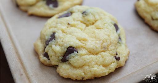 5 Ingredient Cake Mix Cookies