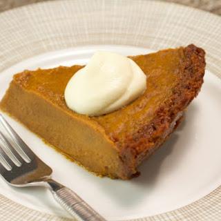 Pumpkin Pie With Gingersnap Crust Recipes