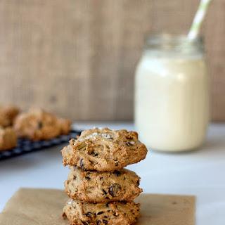 Grain-free Pistachio Chocolate Chip Cookies with Sea Salt {Gluten-free + Dairy-free with Vegan Option}