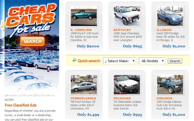 Ad Added Cheap Cars For Sale 13