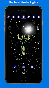 Disco Light: Flashlight with Strobe Light & Music- screenshot thumbnail