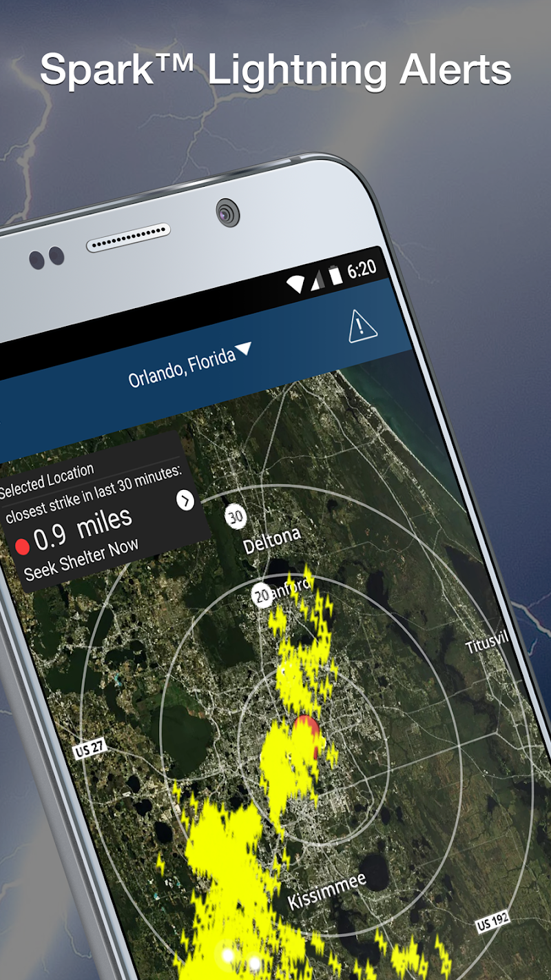 Weather Elite by WeatherBug Screenshot 0
