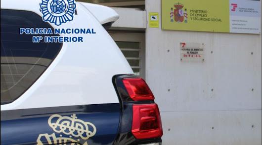 La Policía Nacional en Almería descubre un fraude a la Seguridad Social.