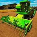 Real Farm Harvester 3D: Truck Driving Simulator icon