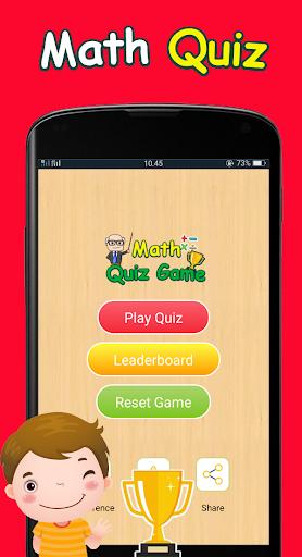 Math Quiz Game 1.0.1 screenshots 1