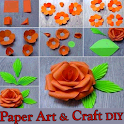 Paper Art and Craft VIDEOs App DIY Step by Step icon
