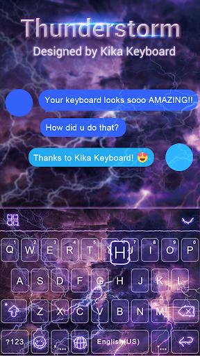 Thunderstorm Keyboard Theme