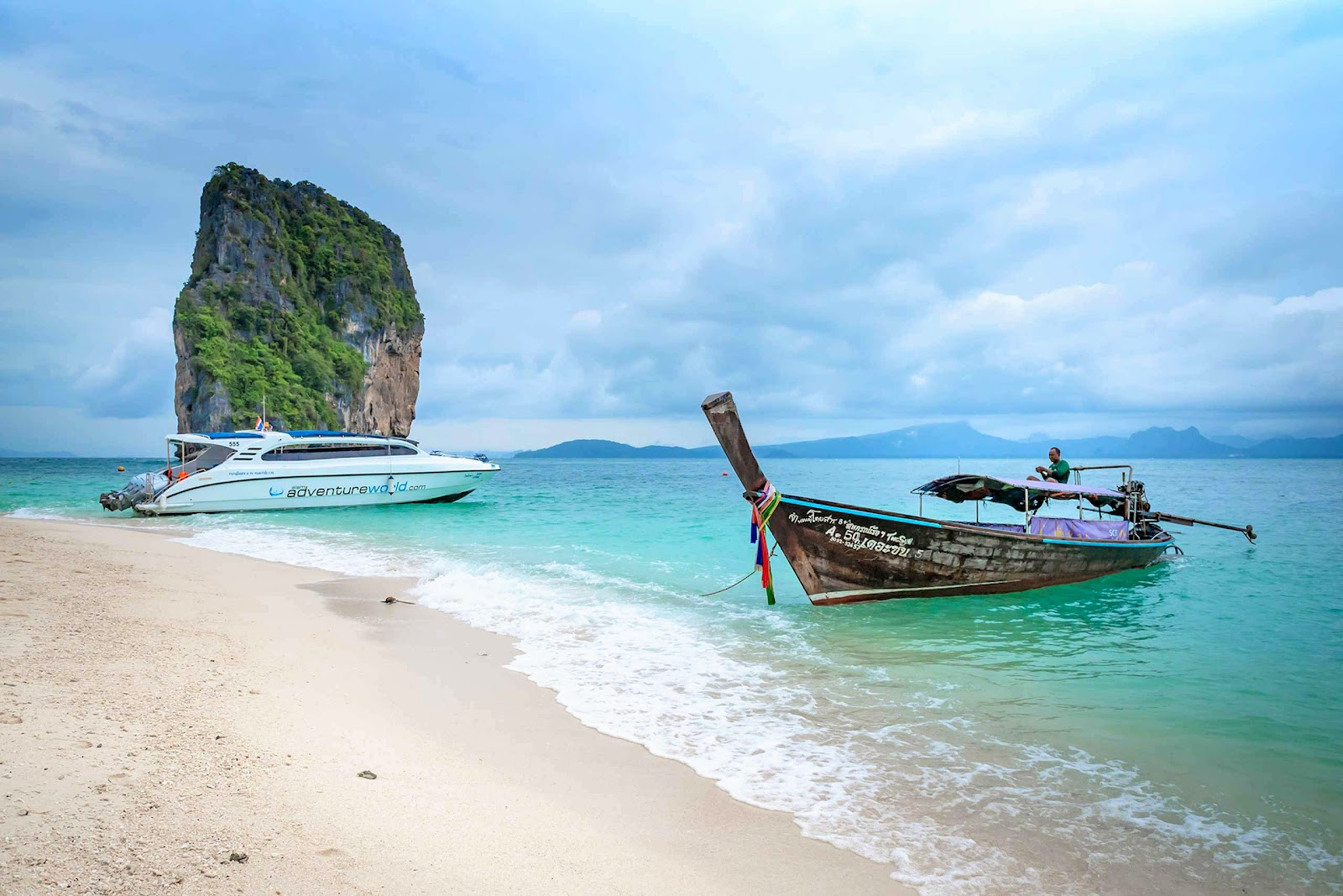 Early Bird Tour to 4 Islands & Railay Beach by Siam Adventure World from Khao Lak