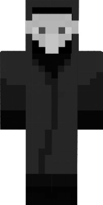 this scp-049 looks like in the scp mod of minecraft