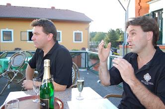 Photo: Onze twee gastheren-gidsen: Maarten (links) en Philippe (rechts).