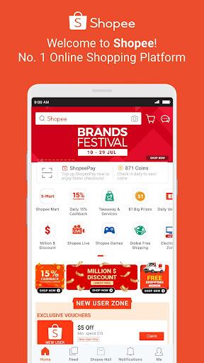 Shopee Brands Festival 2.58.11 screenshots 1