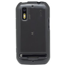 Photo: I found several cases for the phone, this one caught my eye though, it is smokey and shiny. Very classy looking in my opinion.
