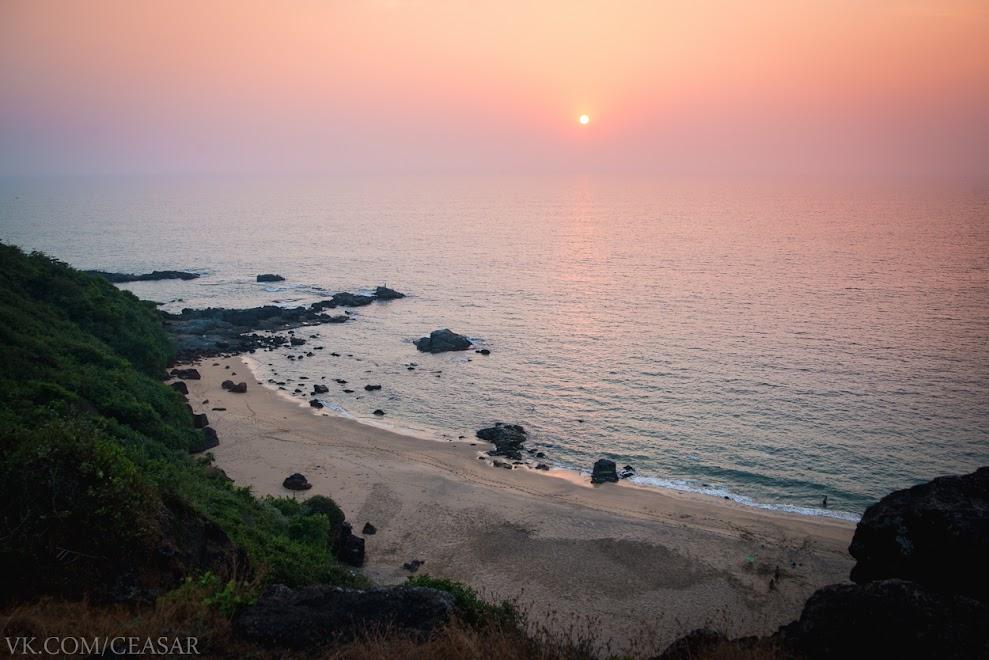 Недалеко от Cola Beach, Индия